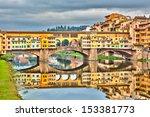 Pone Vecchio Over Arno River I...