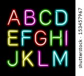 abc,advertisement,alphabet,alphabetical,art,black,bright,bright alphabet,capital,color,colored,colorful,decoration,design,electric