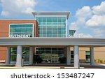 new modern hospital outpatient... | Shutterstock . vector #153487247