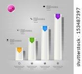 conceptual design of paper... | Shutterstock .eps vector #153487397