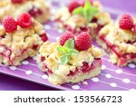 homemade raspberry cake   sweet ... | Shutterstock . vector #153566723