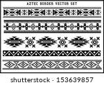 american,ancient,art,artwork,aztec,background,black,black and white,border,culture,decoration,design,element,frame,geometric