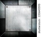 iron pattern background | Shutterstock . vector #153645593