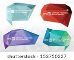 a collection of vector modern... | Shutterstock .eps vector #153750227