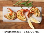 Grilled Lobster Tails With...