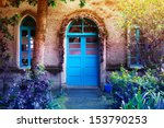 blue entrance | Shutterstock . vector #153790253