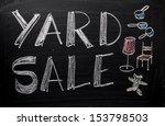 an advertisement or... | Shutterstock . vector #153798503