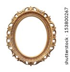 retro oval frame isolated with... | Shutterstock . vector #153800267