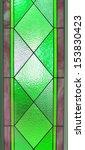 multi colored glass of window | Shutterstock . vector #153830423