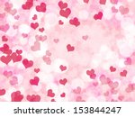 abstract valentine's day... | Shutterstock . vector #153844247