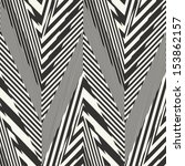 abstract striped textured... | Shutterstock .eps vector #153862157