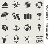 Summer Icons.vector