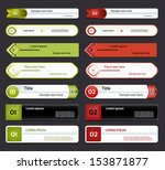 modern infographics options... | Shutterstock .eps vector #153871877