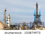 industrial facilities | Shutterstock . vector #153874973