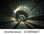 underground metro line | Shutterstock . vector #153898607