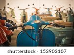 classic old motorcycle   Shutterstock . vector #153903107