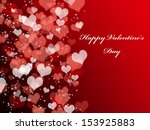 abstract valentine's day... | Shutterstock . vector #153925883