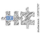 idea   concept wallpaper | Shutterstock . vector #153972797