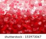 abstract valentine's day... | Shutterstock . vector #153973067
