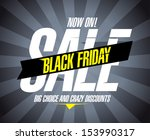 black friday sale design... | Shutterstock .eps vector #153990317