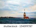 maiden's island in istanbul ... | Shutterstock . vector #154099787
