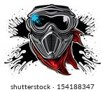 paintball  | Shutterstock .eps vector #154188347