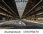 Industrial Interior Of An Old...