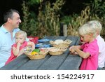 Happy Father With Children  2...