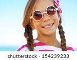 child resting at the summer... | Shutterstock . vector #154239233