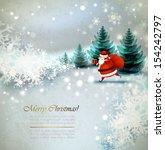 Santa Claus On The Winter...