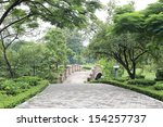 green city park | Shutterstock . vector #154257737