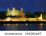 Tower Of London Illuminated At...
