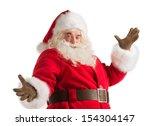 Santa Claus Gesturing His Hand...