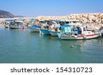 old fishing boats in the harbor | Shutterstock . vector #154310723