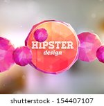 abstract background with... | Shutterstock .eps vector #154407107