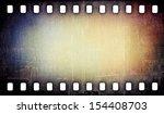 Grunge Scratched Film Strip...