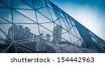 modern city urban futuristic...   Shutterstock . vector #154442963