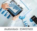 business  office  school and... | Shutterstock . vector #154457633
