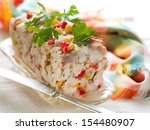 Chicken Terrine With Vegetable...