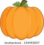 pumpkin cartoon illustration | Shutterstock .eps vector #154493057