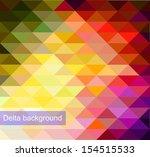vector background of geometric... | Shutterstock .eps vector #154515533