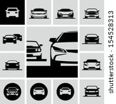 cars icons | Shutterstock .eps vector #154528313