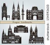 Prague Landmarks And Monuments...