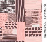 vector seamless pattern. modern ... | Shutterstock .eps vector #154595873