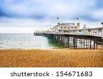 Brighton  Pier  Uk In Autumn