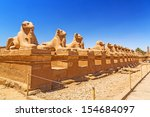 Ancient Egyptian Statues Of Ra...