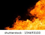 abstract of blaze fire flame... | Shutterstock . vector #154693103
