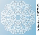 White Paper Vector Snowflake...