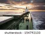 Cargo Ship Underway Viewed Fro...