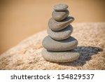 zen stones | Shutterstock . vector #154829537